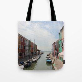 Burano in Venezia Tote Bag