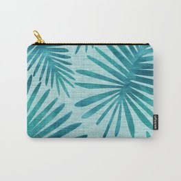 Mid Century Tiki Fronds Carry-All Pouch