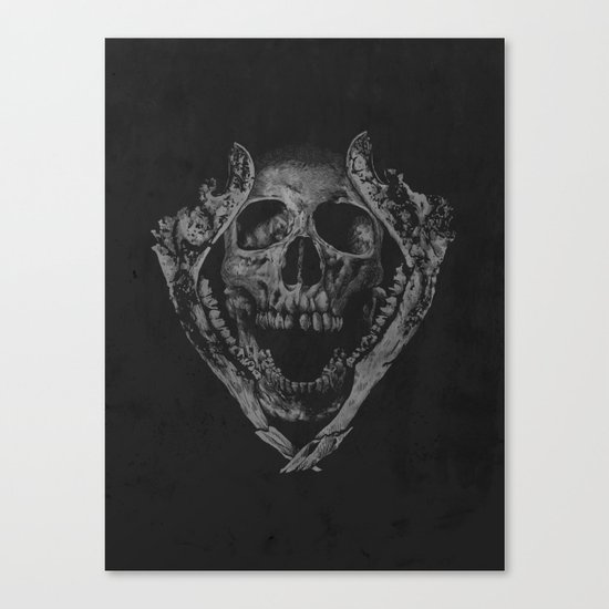 Jawz Canvas Print