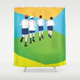 Gentlemen of Fortune Shower Curtain