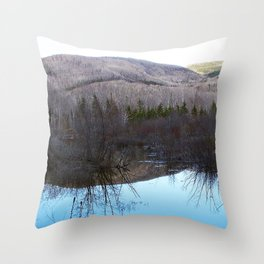 Reflecting Nature Throw Pillow