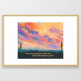 Closing Time   Semisonic Inspired Lyric Art Print Poster Framed Art Print