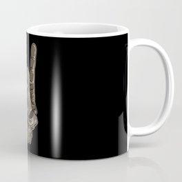 Devil Horns Sign | Heavy Metal Hand Gesture Music Coffee Mug