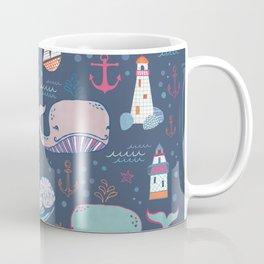 Whale Toss Coffee Mug