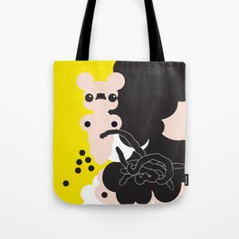 worms in stomach Tote Bag