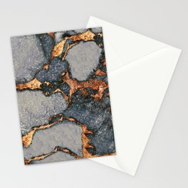 GEMSTONE GREY & GOLD Stationery Cards