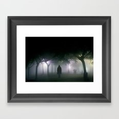 spirits drifting Framed Art Print
