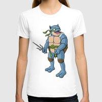 ninja turtle T-shirts featuring Ninja Turtle Blastoise by peterstokesdesign