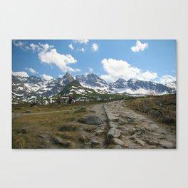 Dolina Gąsienicowa Canvas Print