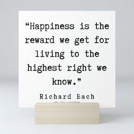 99    | Richard Bach Quotes | 190916 Mini Art Print