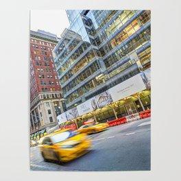 New York Street Scene Poster