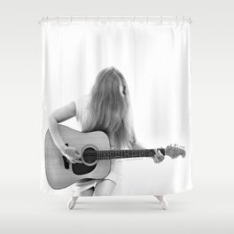Dreaming On Shower Curtain