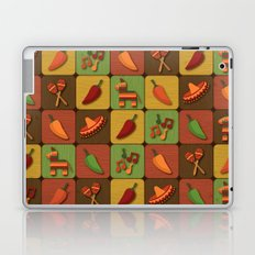 Mexican Squares Laptop & iPad Skin
