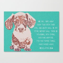 Our Weenie Canvas Print