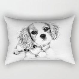 Playful Puppy Rectangular Pillow