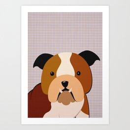 DOGS Poster, Nursery Decor, Animal decor, Dog, kids room decor, dogs wall art Art Print