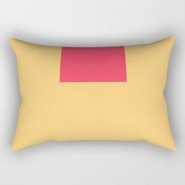 The Hanging Cube Rectangular Pillow