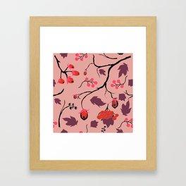 Forest Brier Framed Art Print