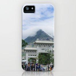 Lan Tau Island iPhone Case