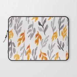180726 Abstract Leaves Botanical 11  Botanical Illustrations Laptop Sleeve