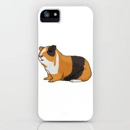 Guinea Pig Illustration iPhone Case