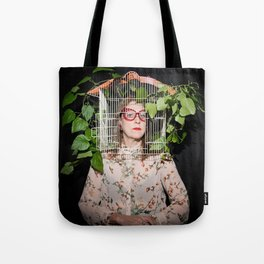 Stacie Huckeba - Caged But Free Tote Bag