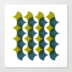 #545 What is so bad about sixties wallpaper? – Geometry Daily Canvas Print