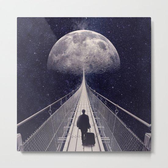 Space Trip || Metal Print