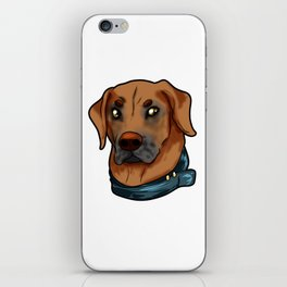 Rhodesian Ridgeback Dog Doggie Puppy Gift Present iPhone Skin