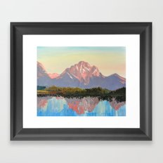 Quiet Framed Art Print