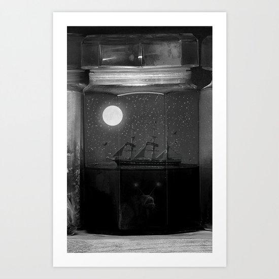 Little Worlds (Crop II) Art Print