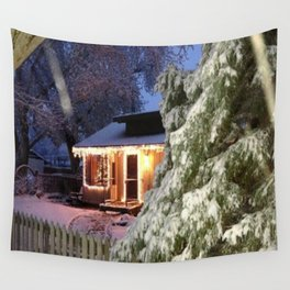 Winter Beauty Wall Tapestry