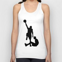 lakers Tank Tops featuring #TheJumpmanSeries, Allen Iverson by @thepeteyrich