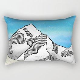 Mt Everest Rectangular Pillow