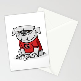 Bulldog from Georgia Stationery Cards