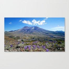 Mount St. Helens  Canvas Print