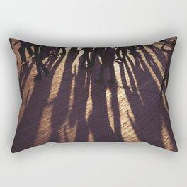 Dancing Shadows Rectangular Pillow