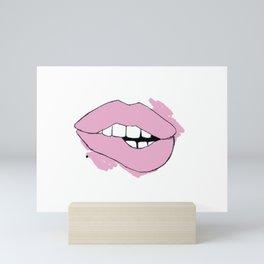 lovebite. Mini Art Print