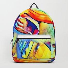 Rainbow Seashells Backpack