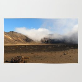Tongariro Volcanic Landscape - New Zealand Rug