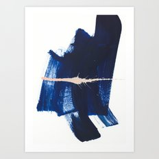 brush strokes 4 Art Print