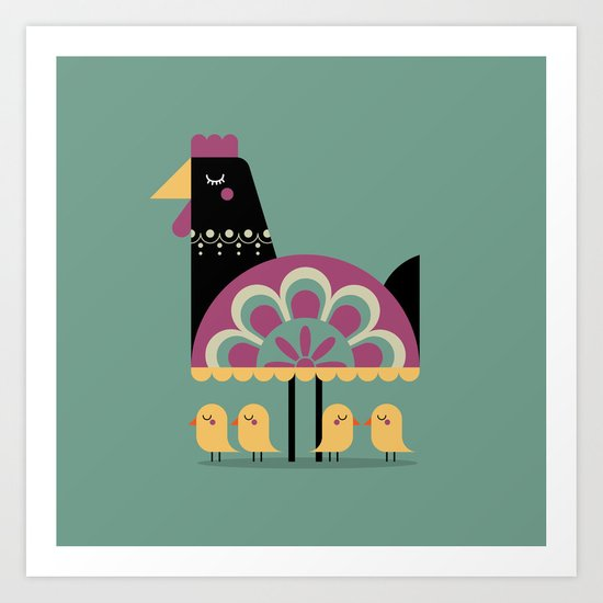 Young Bird Art Print