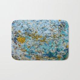 Hyper Lichen on Desert Rock Bath Mat