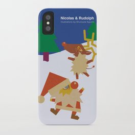 Nicolas&Rudolph iPhone Case