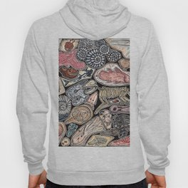 Fossils for history, dinosaur and archaeology lovers Hoody