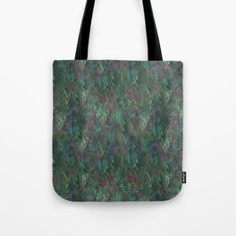 After Anawhata Jungle  Pattern Tote Bag
