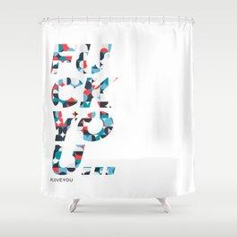 FU Shower Curtain