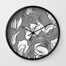 Petite Sweetpea Wall Clock