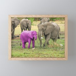 Its a Girl Framed Mini Art Print