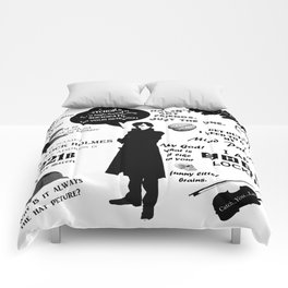Sherlock Holmes Quotes Comforters